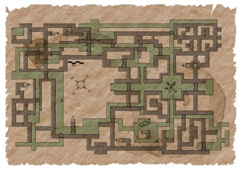 Floorplan Maker 3 5 pcs fleeing thru sigil s sewers on friday the 13th