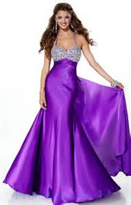 Buy tailor made halter sweetheart beading purple fashion hot prom