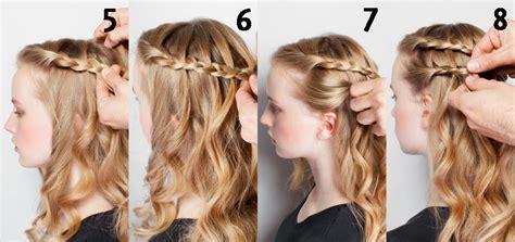 como hacer trenzas cascada paso a paso como hacer peinados con trenzas paso a paso elainacortez