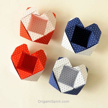tutorial origami heart box an origami heart box perfect for valentine s