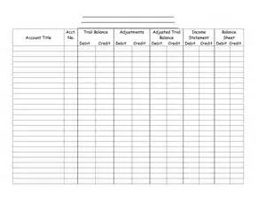 6 best images of 8 column worksheet printable blank 10