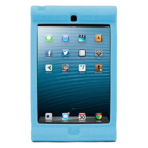 fundas ipad mini ni os funda ipad mini para ni 241 os azul pccomponentes