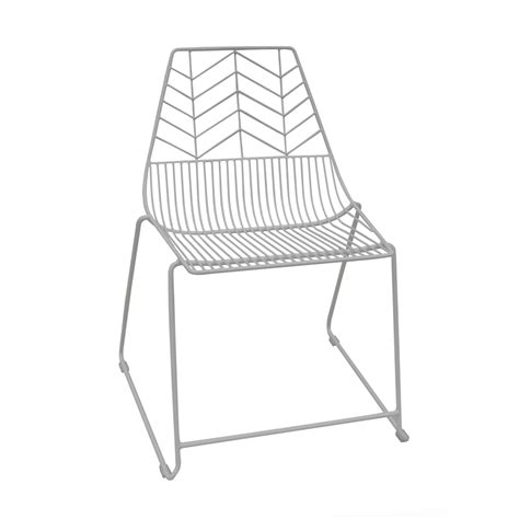 modern wire chair marquee white iron modern zozo wire chair bunnings warehouse
