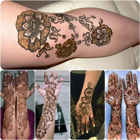 mehndi tattoo designs for girls shaded henna designs for 2018 stylo planet