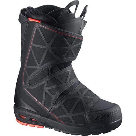 salomon snowboard boots salomon f4 0 snowboard boots 2016 used evo