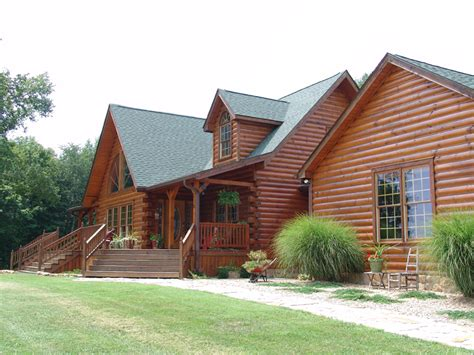westport plan modified log homes timber frame and log