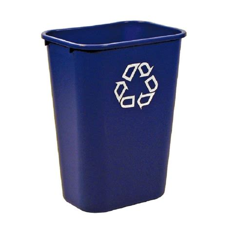 Blue Rubbermaid Large rubbermaid commercial products 10 38 gal blue large