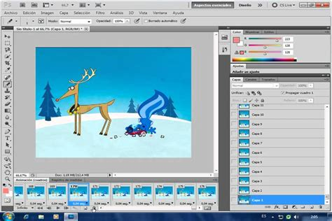 tutorial photoshop adobe cs5 tutorial photoshop cs5 animaciones gif a partir de