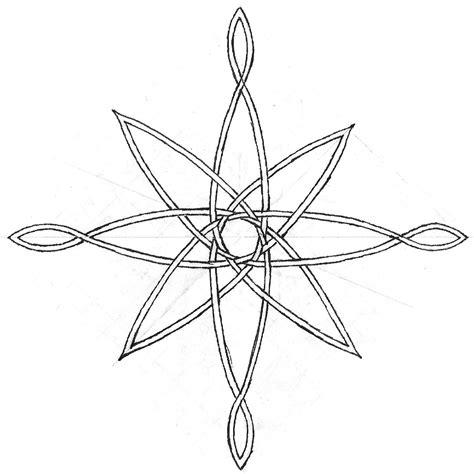 celtic compass rose tattoo compass sketch by midnightlynx deviantart tat