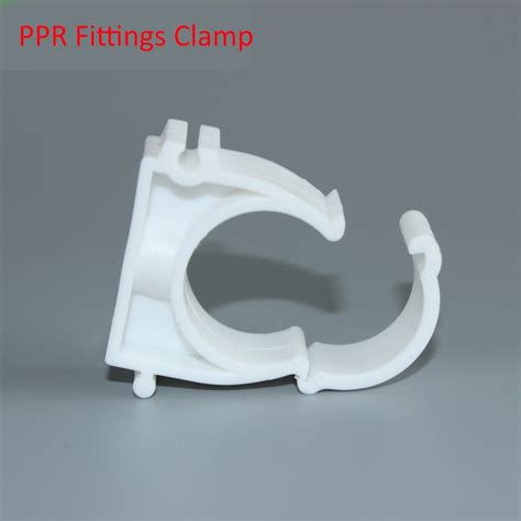 Klem Pipa Pvc 20 Mm Clipsal 100 Pcs durable d20mm ppr all plastic fittings flat pipe cl by injection mold for water plumbing pipe