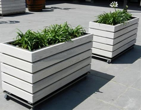 Wooden Indoor Planters by 25 Unique Wooden Planters Ideas On Wooden