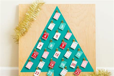 easy to make advent calendar for 20 diy advent calendars for adults