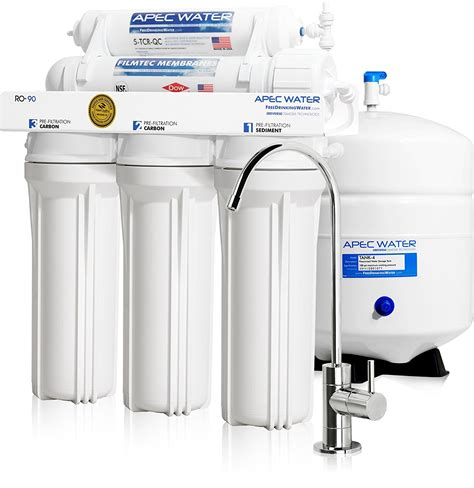 apec ro 90 5 stage osmosis system review