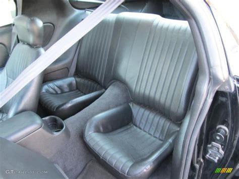 interior 2000 pontiac firebird trans am ws 6 coupe