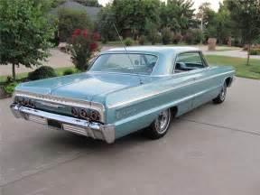 1964 chevrolet impala ss 2 door coupe barrett jackson auction