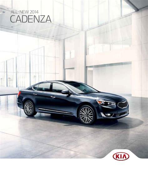 Kia Forte Brochure 2014 Kia Cadenza Brochure Key Auto El Paso