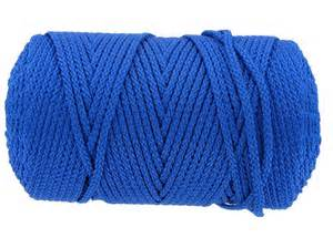 Bonnie Braid Macrame Cord - pepperell crafts 2mm royal bonnie braided macrame craft