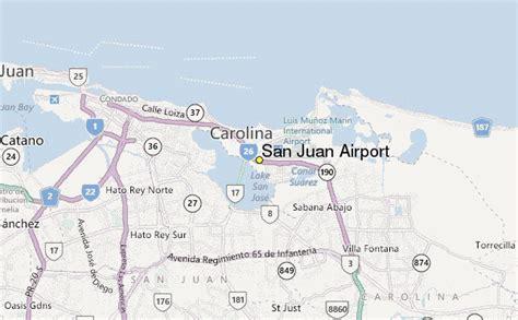 sju airport map san juan airport weather station record historical