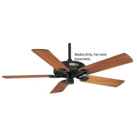 Outdoor Ceiling Fans At Home Depot by 52 In Outdoor Solid Teak Original Ceiling Fans