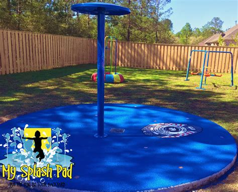 splash pad backyard residential splash pads safety surfaces by my splash pad