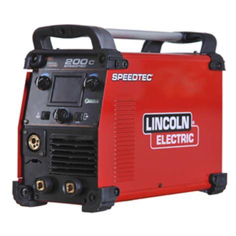 lincoln electric 180c speedtec 174 200c