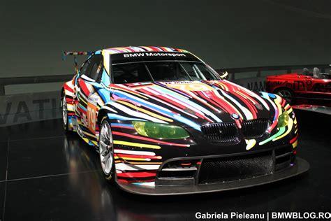 design art racing bmw m3 gt2 art car at the bmw museum