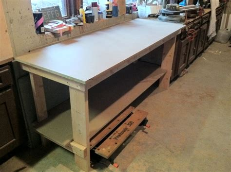 how wide is a bench no frills workbench 4 steps with pictures