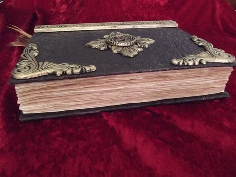 Handmade Book Of Shadows - handmade book of shadows custom made books to treasure