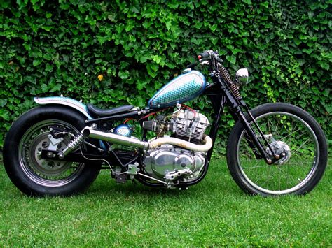 One Sweet Suzuki GS500 Chopper from Anarchy Custom Romania