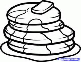 pancake coloring pages how to draw pancakes step by step food pop culture