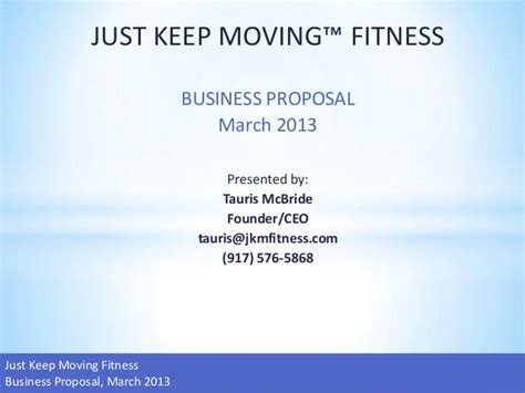 Jkm Fitness Business Plan And Projections Anytime Fitness Business Plan Template