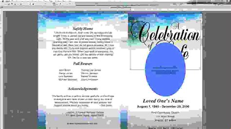 9 Funeral Program Template Microsoft Wordagenda Template Sle Agenda Template Sle Microsoft Word Program Templates