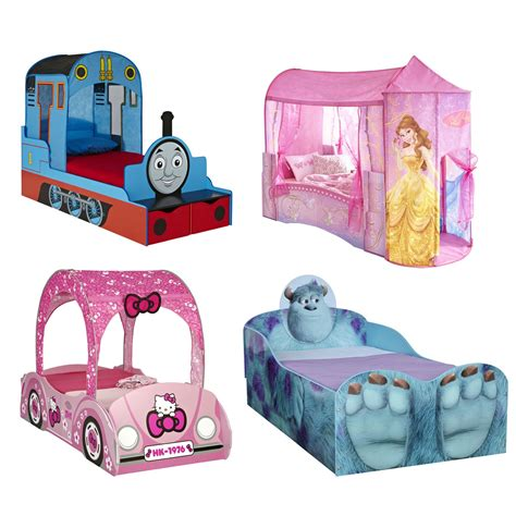 disney bed kids disney and character feature toddler beds new ebay