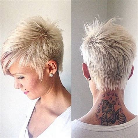 Frisurentrends 2016 Blond by Funky Hairstyles For Grey Hair
