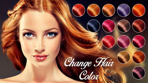 color hair changer change hair color apk free photography app for