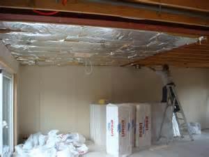 isolation et plafond notre nouvelle ossature bois