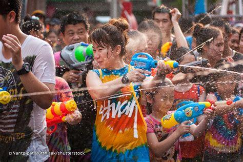 thailand new year song songkran festival 2018 in phuket water festival in thailand
