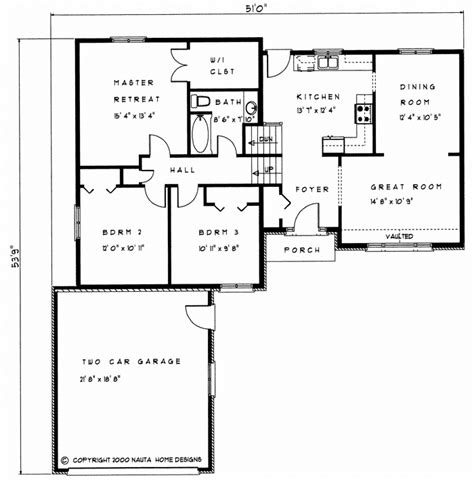 3 bedroom sidesplit house plan sp102 1321 sq