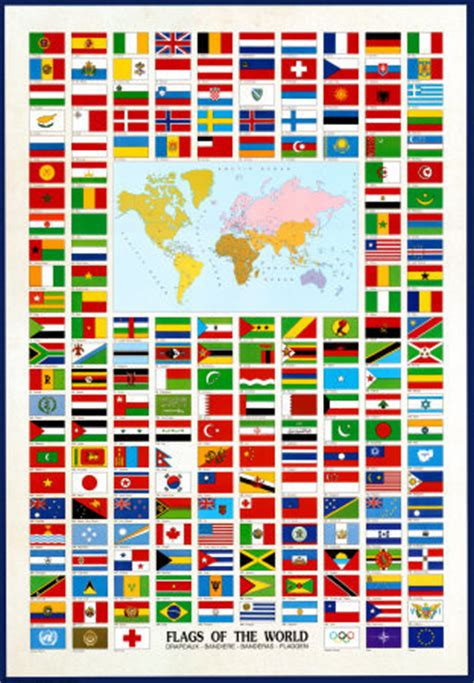 free printable flags of the world poster conn brattain and john giordani designers