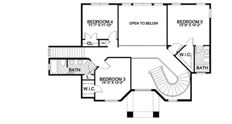 house plans with stairs mediterranean house plan with two stairs 32141aa 1st floor master suite cad