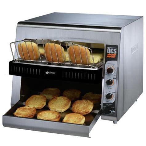 Bun Toaster holman qcs31400bh high volume conveyor bun toaster etundra