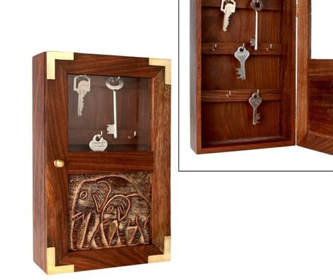 decorative wall cabinets with doors wooden rack key holder for wall ideas