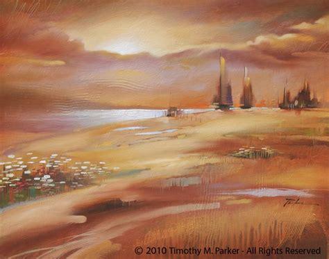 modern landscape painting artist tim parker tim parker