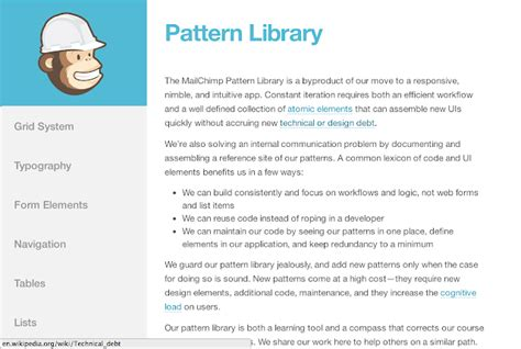 evernote pattern library creating your next ui pattern library indianapolis web