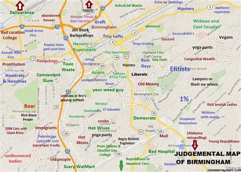 Judgmental Maps Birmingham Al By Anonymous Copr 2014