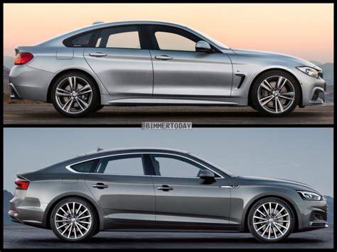 Bmw 3er Vs 4er Gran Coupe by Vergleich Audi A5 Sportback 2017 Vs Bmw 4er Gran Coup 233