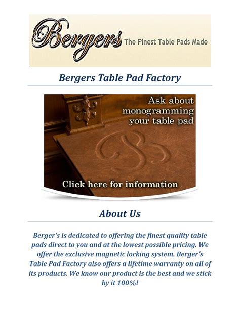 berger s table pad factory indianapolis bergers table pad factory table protector by bergers table