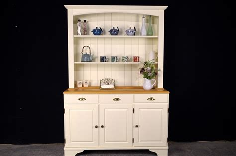 Open Shelf Dresser by Classic Country Pine Dresser Open Shelf Top Painted