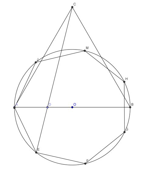 construction of a regular pentagon wu forums construction of a regular polygon