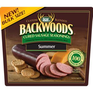 Summer Sausage Shelf by Backwoods Summer Sausage Cured Sausage Seasoning Products